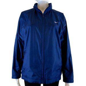Nike Sportswear Navy Blue Jacket - Size S (4-6)